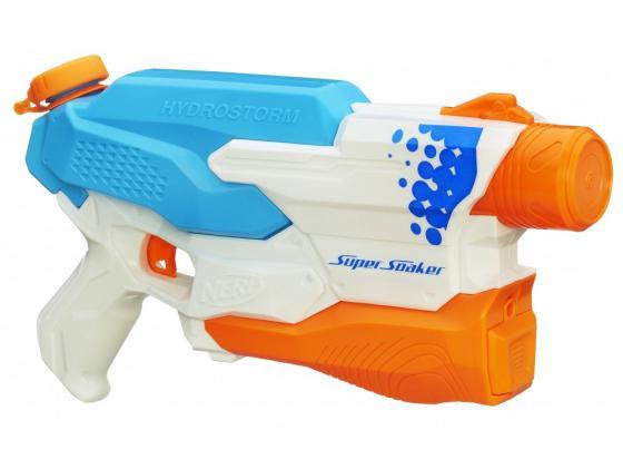 Бластер Nerf A9461 для мальчика голубой оранжевый белый