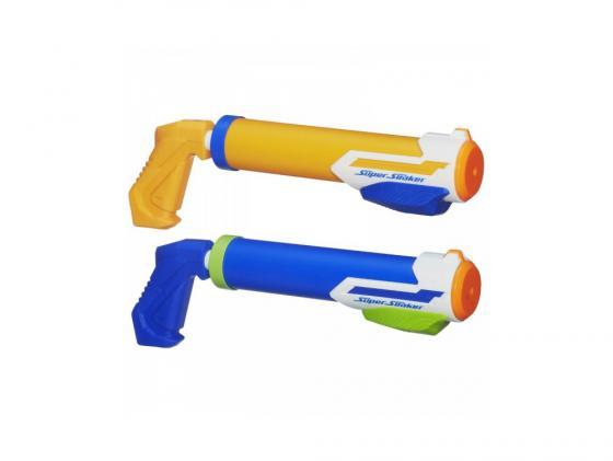 Бластер Hasbro Nerf Super Soaker Водяные трубки для мальчика синий оранжевый А4842 хасбро hasbro a5832 бластер скаттербласт nerf super soaker