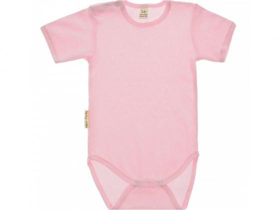 Боди майка Lucky Child ажур, розовая. размер 22 (68-74)