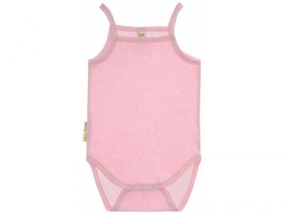 Боди-майка Lucky Child Ажур Розовый, разм.24 (74-80 см.) пижамы lucky child пижама