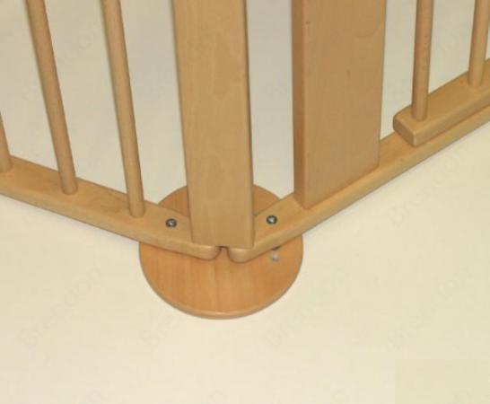 Дополнительная угловая секция к воротам безопасности Geuther (цвет NA) geuther 94 5х102 см na 07 натуральный lucilee