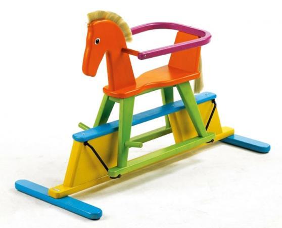 Качалка Geuther Stern Лошадка дерево от 1 года разноцветный 2952 FY качалка geuther лошадка качалка geuther stern разноцветная