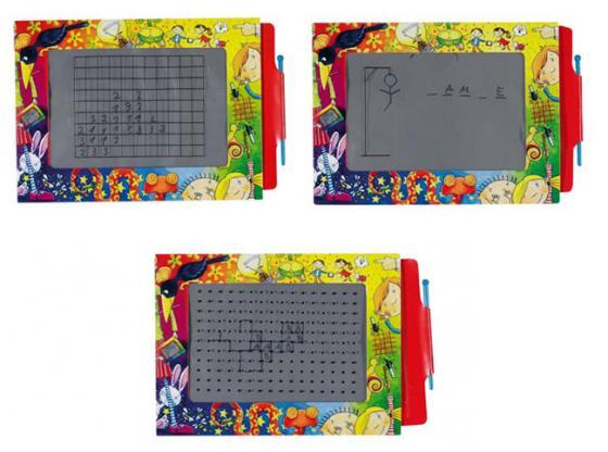 цены Доска для рисования Goki Волшебный экран 19 x 27 см 58653
