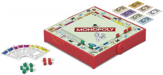Настольная игра Hasbro Монополия (дорожная) B1002 настольная игра hasbro hasbro настольная игра монополия миллионер