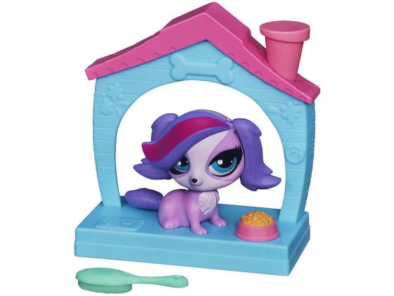 Игровой набор Hasbro Littlest Pet Shop Зверюшка с волшебным механизмом 4 предмета А5130 доска пиши стирай 21 27 2 5см littlest pet shop на магнитах маркер с магнитом