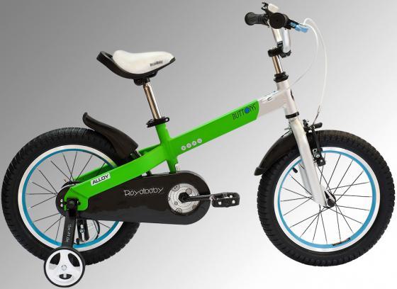 Велосипед двухколёсный Royal baby Alloy Buttons Diy 12 дюймов зеленый