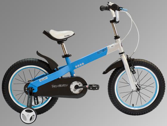 """Велосипед двухколёсный Royal baby Alloy Buttons Diy 12"""" синий"""