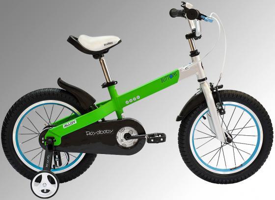 Велосипед двухколёсный Royal baby Alloy Buttons Diy 14 дюймов зеленый сапоги vivian royal vivian royal vi809awyie50