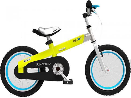 """Велосипед двухколёсный Royal baby Alloy Buttons 16"""" желтый"""