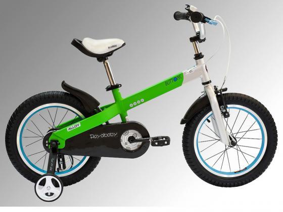 """Велосипед двухколёсный Royal baby Buttons Alloy 16"""" зеленый RB16-16"""
