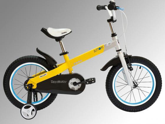 """Велосипед двухколёсный Royal baby Buttons Alloy 18"""" желтый RB18-16"""