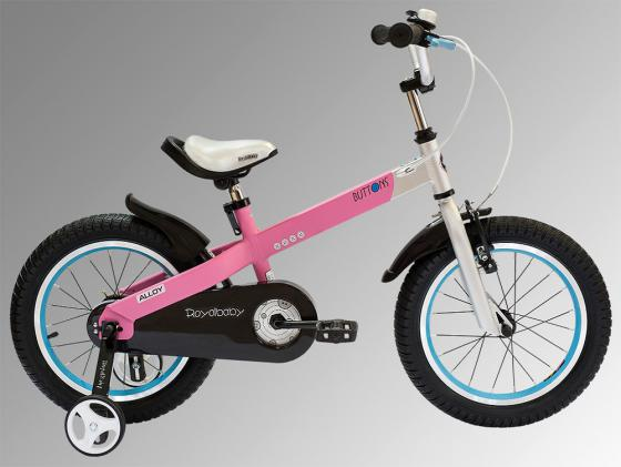 """Велосипед двухколёсный Royal baby Buttons Alloy 18"""" розовый RB18-16"""