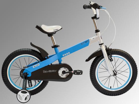 """Велосипед двухколёсный Royal baby Buttons Alloy 18"""" синий RB18-16"""