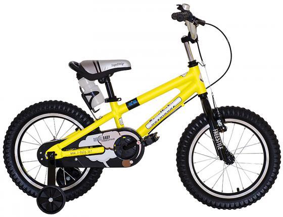"Велосипед двухколёсный Royal baby Freestyle 14"" желтый RB14B-7"