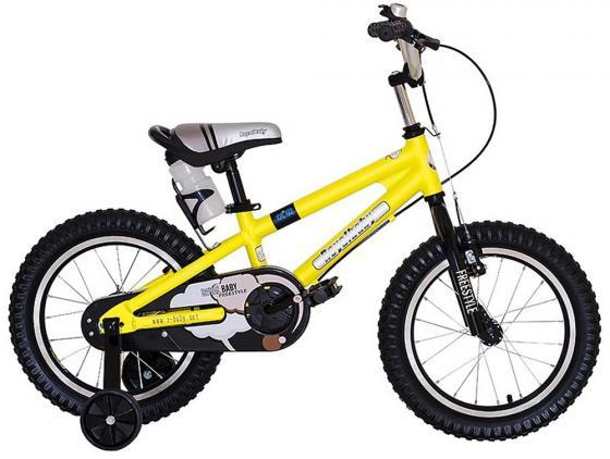 "Велосипед двухколёсный Royal baby Freestyle RB16B-7 16"" желтый"