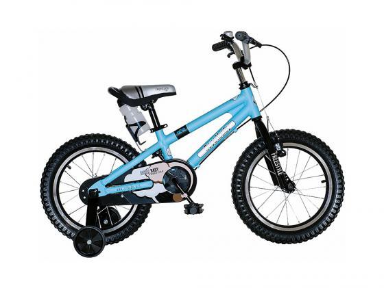 """Велосипед двухколёсный Royal baby Freestyle Alloy 16"""" синий RB16B-7"""