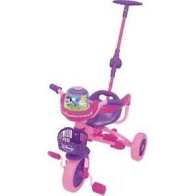 Велосипед трехколёсный Kiddieland Принцесса розовый 041368