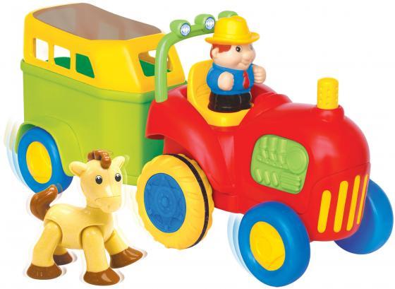 Развивающий центр KIDDIELAND Трактор с лошадкой 038224 ролевые игры kiddieland развивающий центр мастерская