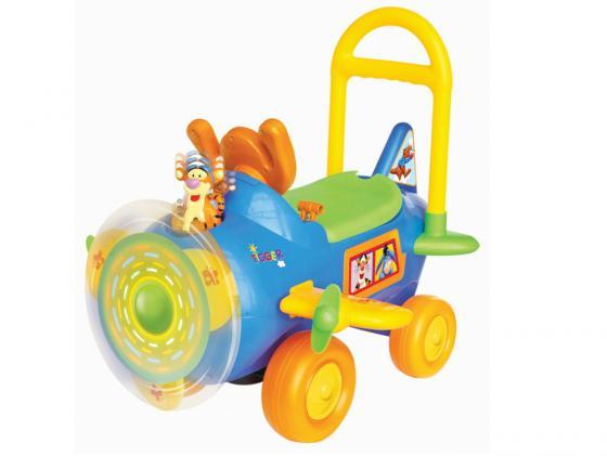 Каталка-машинка Kiddieland Тигруля с пропеллером пластик от 1 года музыкальная разноцветный KID 037499 машинка каталка kiddieland дасти kid 052613