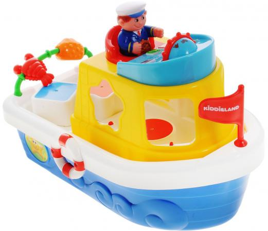 Сортер KIDDIELAND Мой первый корабль 046045 kiddieland развивающая игрушка мой первый корабль сортер