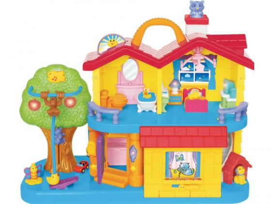 Развивающая игрушка Kiddieland Занимательный дом 032730 kiddieland развивающая игрушка занимательный дом kid 032730