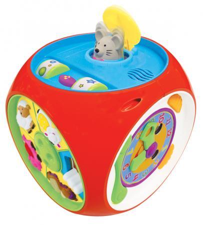 KiddieLand Развивающая игрушка Мультикуб 49775 kiddieland развивающая игрушка занимательный дом kid 032730