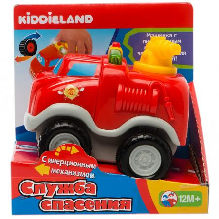 Пожарная машина Kiddieland KID 050070 19 см красный