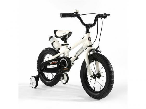 "Велосипед двухколёсный Royal baby Freestyle Steel 12"" белый RB12B-6"