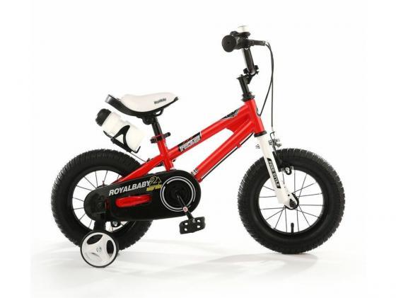 Велосипед двухколёсный Royal baby Freestyle Steel красный RB14B-6