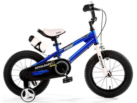 Велосипед двухколёсный Royal baby Freestyle Steel синий RB14B-6