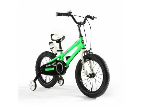 Велосипед двухколёсный Royal baby Freestyle Steel зеленый RB18B-6