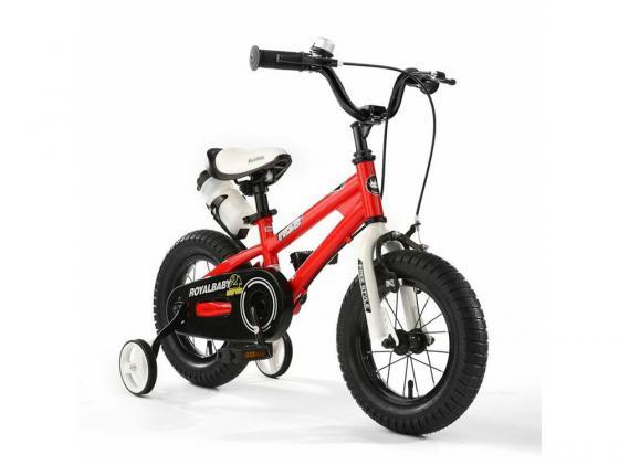 Велосипед двухколёсный Royal baby Freestyle Steel красный RB18B-6 велосипед royal baby freestyle steel синий rb18b 6