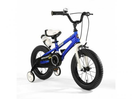 Велосипед двухколёсный Royal baby Freestyle Steel синий RB18B-6 велосипед royal baby freestyle steel синий rb18b 6