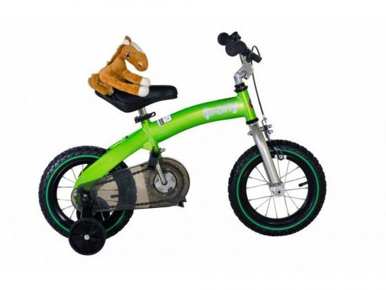 Велосипед двухколёсный Royal baby Pony (2 в 1) зеленый RB12B-4