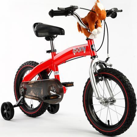 """Велосипед двухколёсный Royal baby Pony 12"""" красный"""
