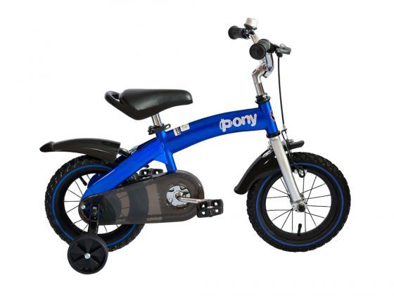 Велосипед двухколёсный Royal baby Pony 12 дюймов синий