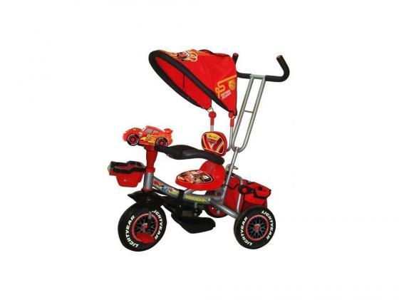 Велосипед трехколёсный Shantou Disney Тачки 2 красный
