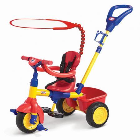 Велосипед трехколёсный Little Tikes Велосипед трехколесный 3 в 1 (красно-синий) красный детский велосипед для мальчиков little tikes 618246