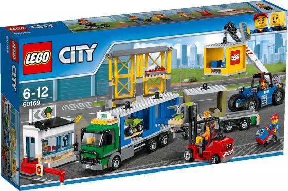 Конструктор LEGO Грузовой терминал 60169 740 элементов