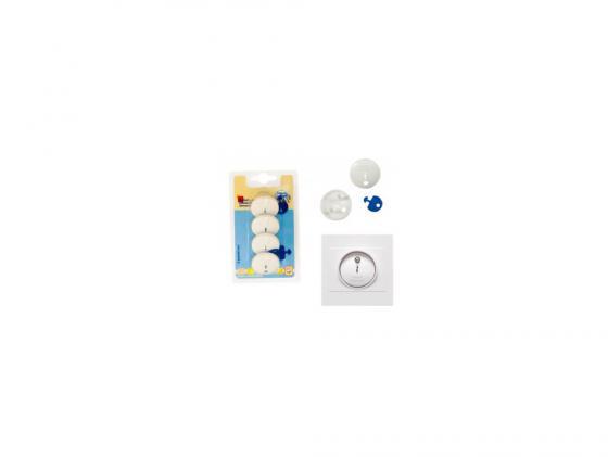 Заглушки для розетки Canpol babies 4 шт. 13/100 canpol babies набор вкладышей для бюстгальтера стандарт 60 шт