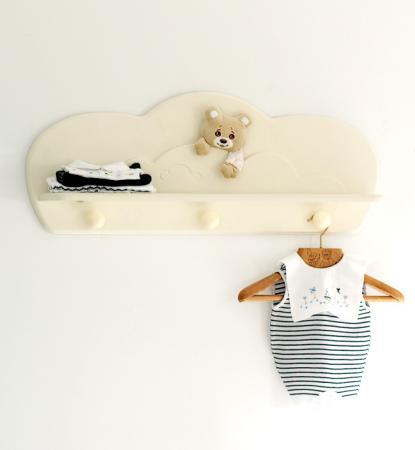 Вешалка-полка Baby Expert Abbracci-Trudi (крем) baby expert вешалка полка baby expert perla gold
