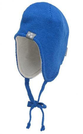 Вязаная шапка Huppa Ian 8385AW00-035  синяя