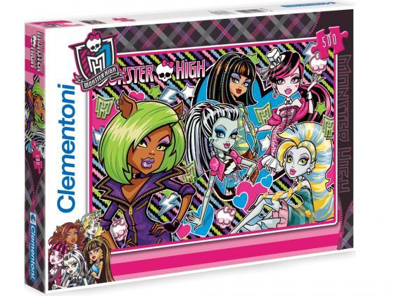 Пазл 500 элементов Monster High Совершенно несовершенны 30385 пазл 500 элементов monster high странные и шикарные 30119