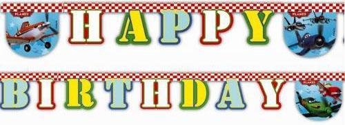 Гирлянда-буквы Procos Самолеты Happy Birthday 1 шт 26072013 гирлянда procos самолеты happy birthday 26072013