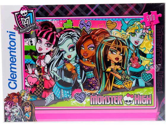 Пазл 500 элементов Monster High Странные и шикарные 30119 пазл 180 элементов monster high специальная коллекция 7310