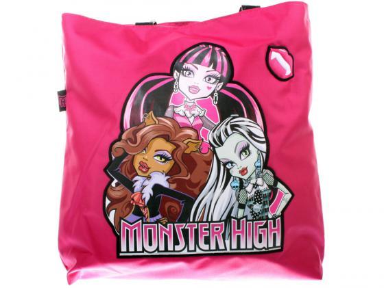 Сумка Monster High 1359 розовый сумка monster high be a monster пляжная 1363 белый синий рисунок