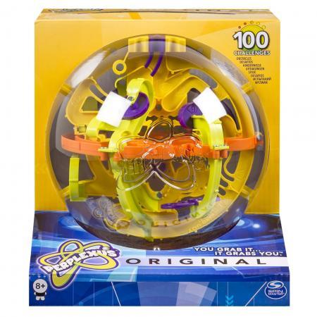 Игра-головоломка SPIN MASTER Perplexus Original, 100 барьеров от 8 лет 34175 spin master spin master головоломка perplexus rookie 70 барьеров