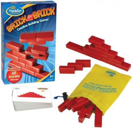 Игра-головоломка Think Fun Кирпичики Brick by brick от 8 лет 5901 игра головоломка recent toys cubi gami