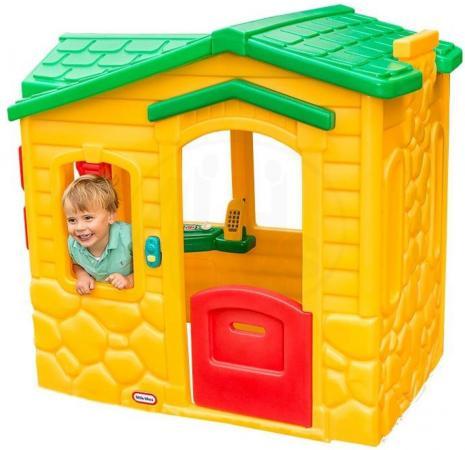 Игровой домик Little Tikes Волшебный звонок, с зеленой крышей 4255 детский велосипед для мальчиков little tikes 618246