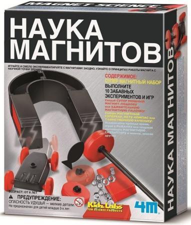 Игровой набор 4M Наука магнитов 00-03291 цена